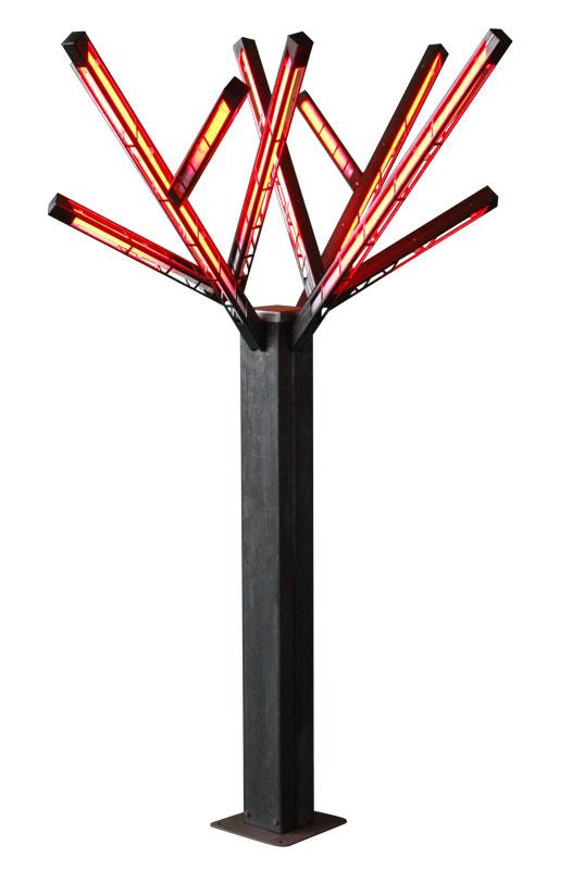 Arbres en couleur RVB disponibles pour l'arbre de luxe